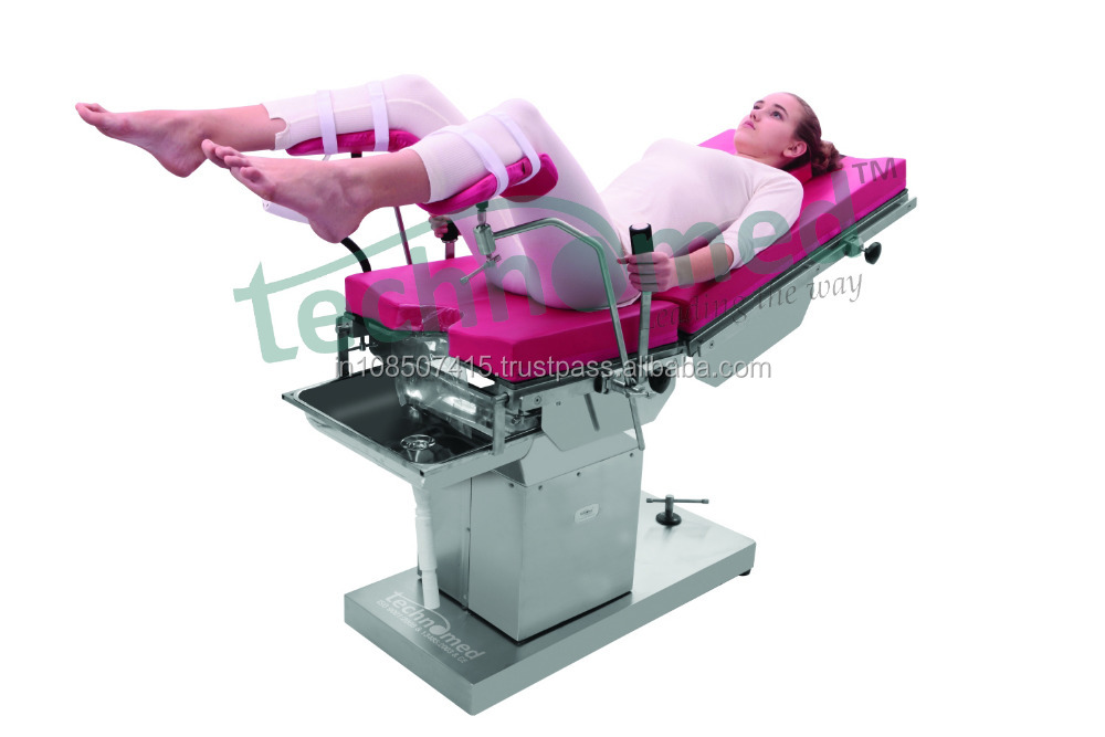 Delivery Bed for Labour Room, Electro-Hydraulic Delivery Table, Birth Table and obstetric Delivery Bed