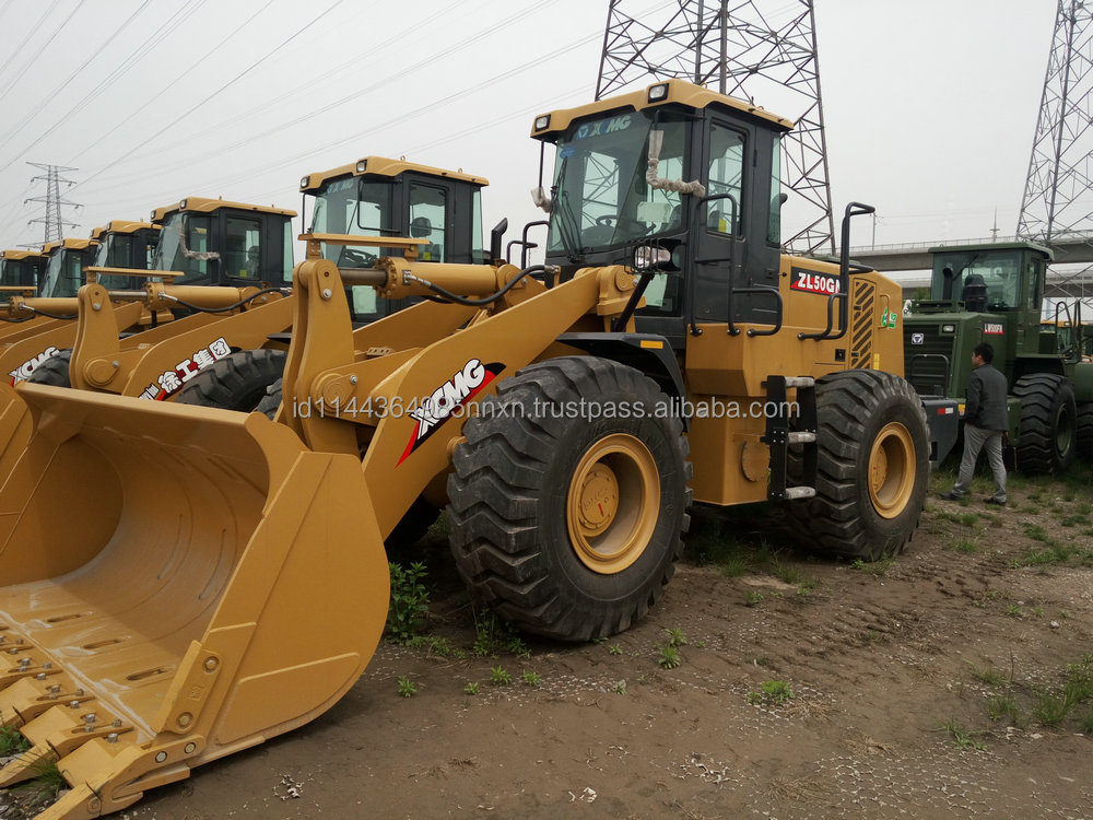 XCMG loader ZL50GN jcb loader Factory direct sale