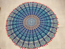 Wholesale Roundie Mandala Tapestry Gypsy Beach Throw bedsheets
