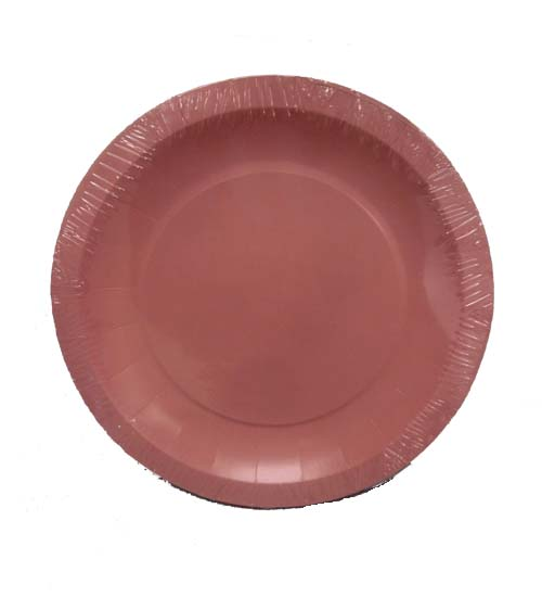7in Pink Paper Plates 16ct