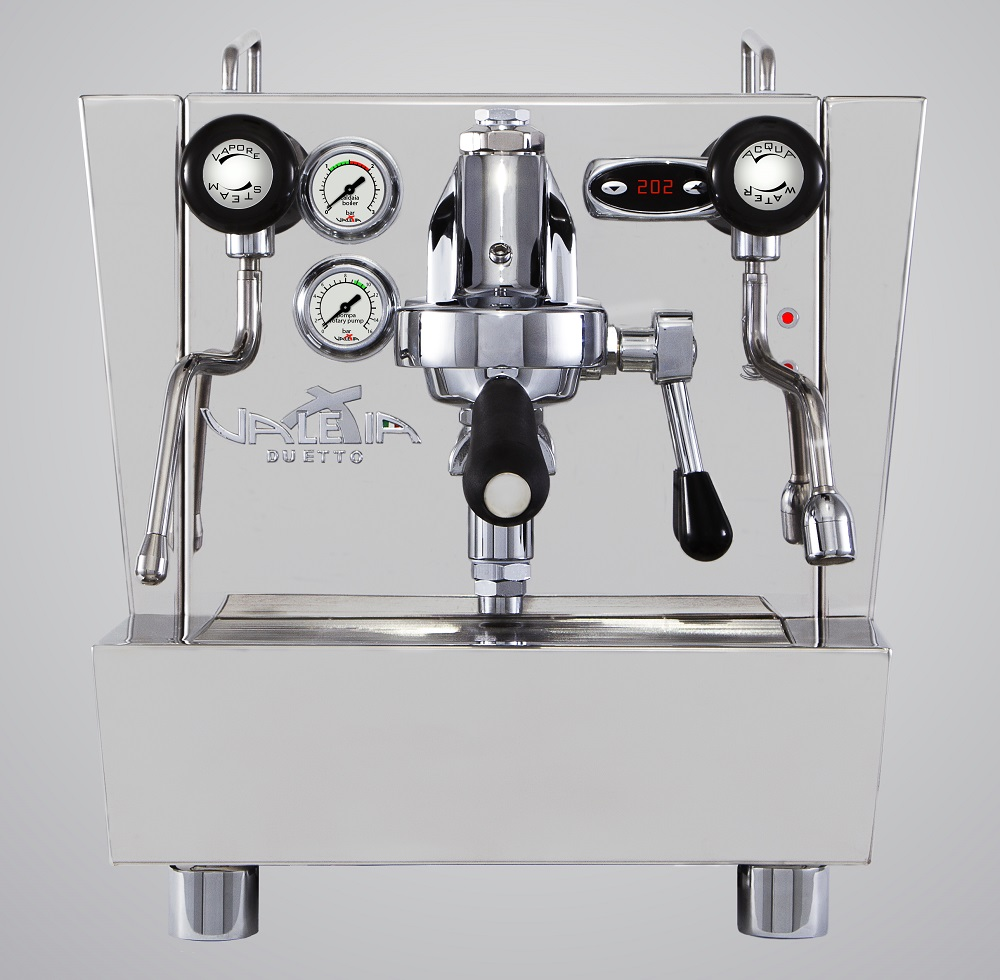 Made in Italy Izzo Valexia Duetto commercial espresso coffee machine - 1 group levetta - double boiler