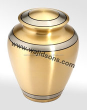 Solid Urns Used For Cremation And Fancy Designing Urn Manufactured By Wajidsons Corporation