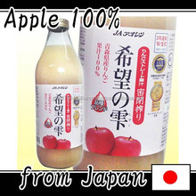 High quality rich apple juice factory fresh juice made in Japan
