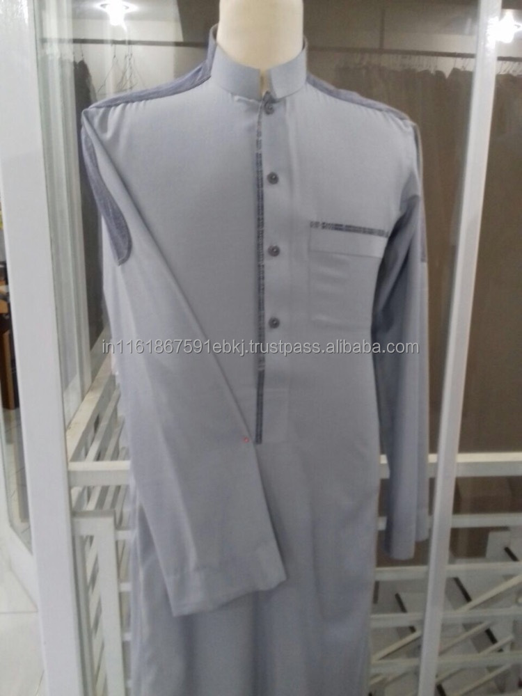 Premium Quality OEM supply Arabic Men Thobe/Jubba