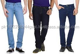 High quality men casual denim jeans latest designs in different colors