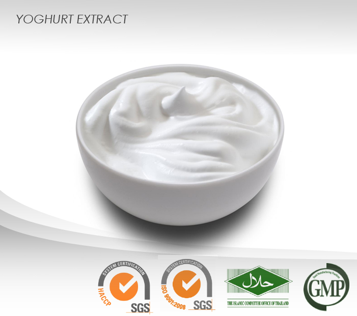 Yoghurt Powder Extract : 25% Protein, 6% Lactic, 2% Fat : Vitalize & Smoothen skin, Hair Conditioner, Help acne problems