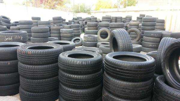 "Used car Tires Sizes: 13"" to 19"""
