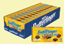 Butterfingers bites Share pack Concession Box 12x3.5oz
