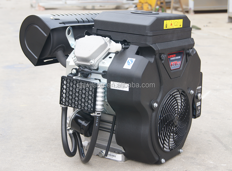 21hp Super Low Noise Gasoline double-cyclinder Engine