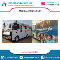 Highly Equipped Medical Mobile Ambulance by Respected Manufacturer of the Industry