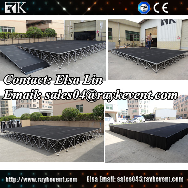 New design outdoor concert event stage sale portable stage