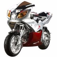 Free shipping for 110cc Auto 4 Stroke X19 Super Pocket Bikes