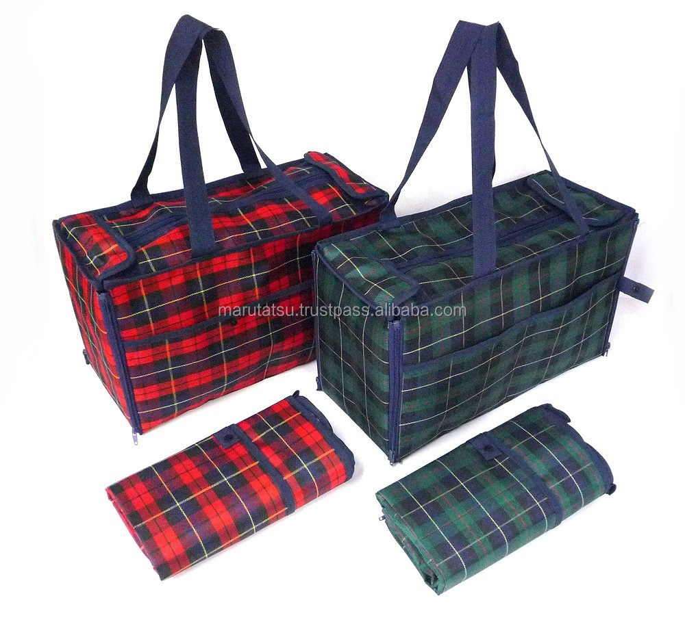 Easy to use and Reliable picnic mat Warm cold storage bag with multiple functions