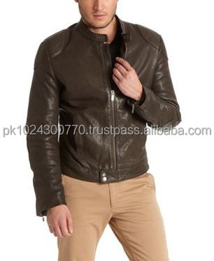 Fashion leather jacket high quality products good quality Pakistani leather jacket made in good quality