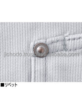 Long sleeve work jumper fabric for all season. Made by Japan