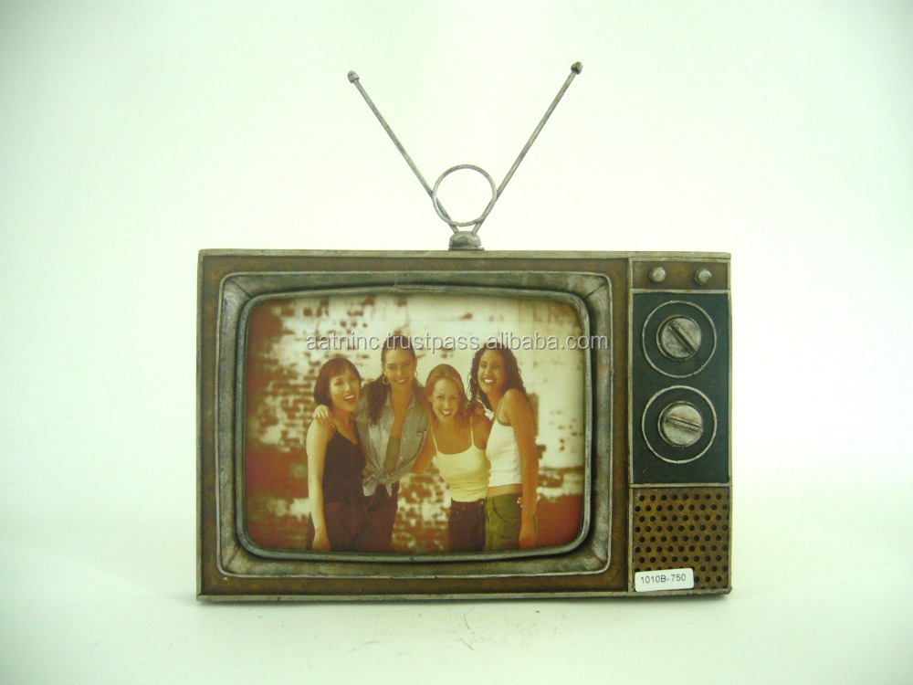 Vintage television models handmade antique model TV