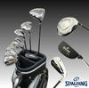 Spalding tour progrind NP-02 mens golf clubs complete set with caddie bag