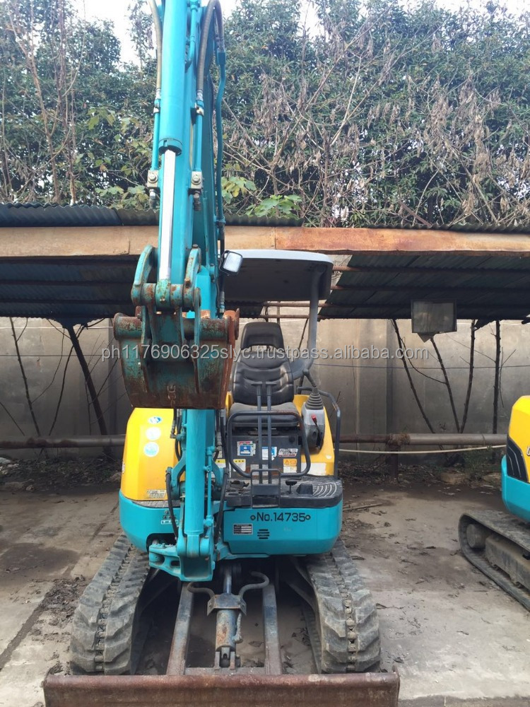 good quality U15 kubota 1.5 ton used japanese mini excavator for sale