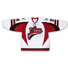 custom made embroidered reversible sublimation ice hockey jerseys