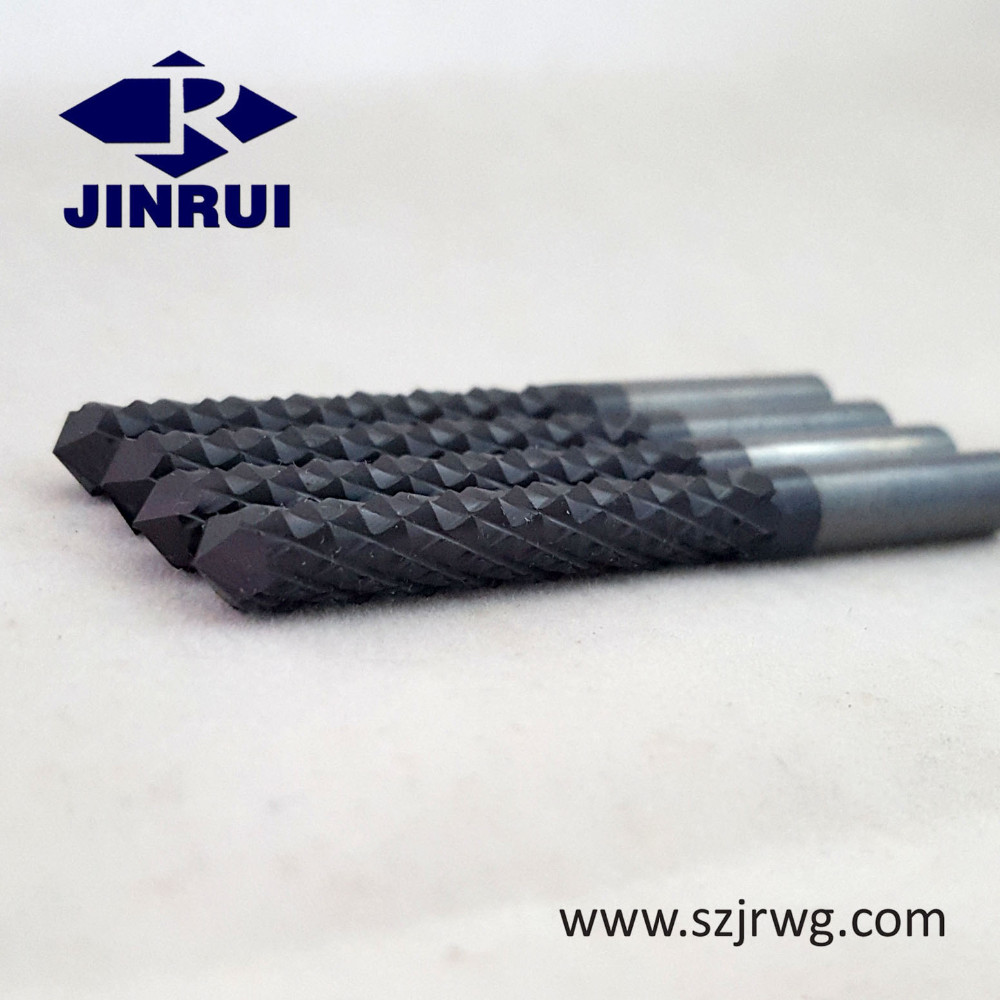 Solid Tungsten Carbide Diamond Cut Router Bit