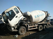 Isuzu used concrete mixer for sale, 2010 year japan made