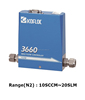 Gas Mass flow controller, Thermal Gas flow meter, Flow meter KOFLOC MFC 3660
