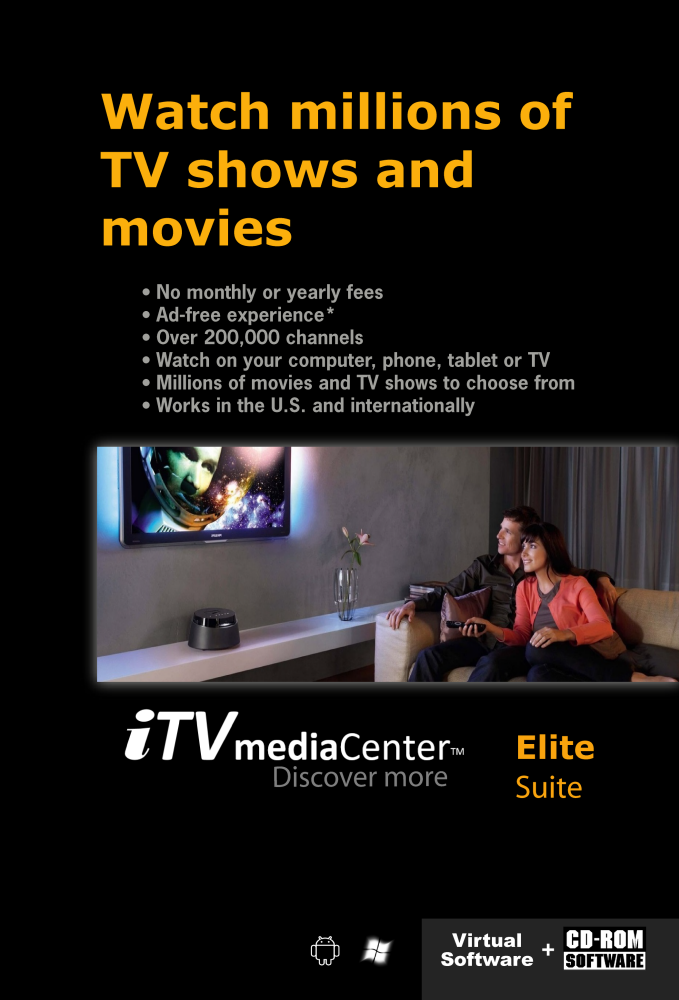 iTVmediaCenter Elite Suite