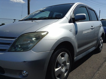 GOOD CONDITION RIGHT HAND DRIVE USED CARS FOR TOYOTA IST UA-NCP61 2003 AT (ENGINE TYPE: 1NZ)