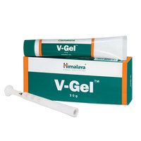 Himalaya V-Gel Quells Infections, Relieves Symptoms - Treats Vaginitis and Cervicitis - 30g