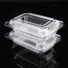 OPS Disposable Clear Container For Sushi, Cake, Bakery, Biscuit, Fruit and Cookie Packaging