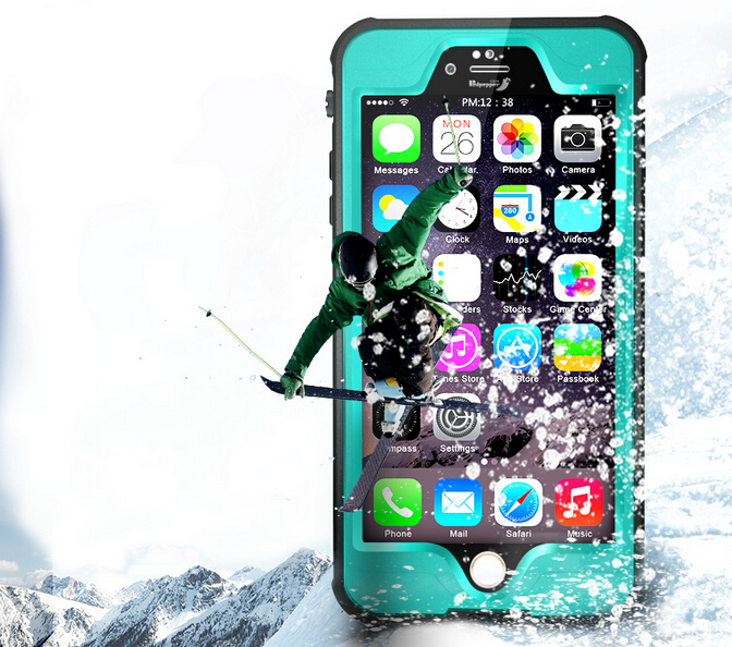 High Quality IPX8 Waterproof phone case! Shockproof TPU+PC Waterproof Screen Touch Phone Cover for iphone 6 6s 6plus 6splus