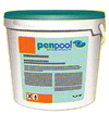 PENCHLOR90TB 3-function products; foaming algae relieving, clarifying water disinfectant (90%) tablet