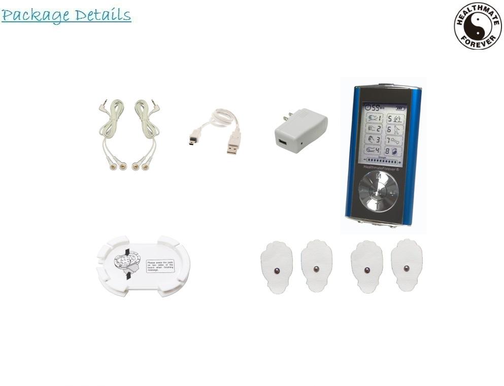 healthmateforever electronic pulse massager manual