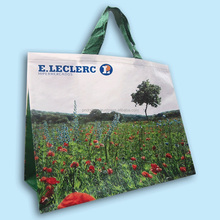 China manufacture PP woven shopping bags with lamination