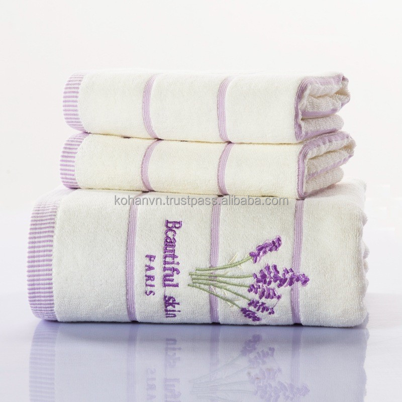 hotel textile bath towel 100% cotton soft & absorbent