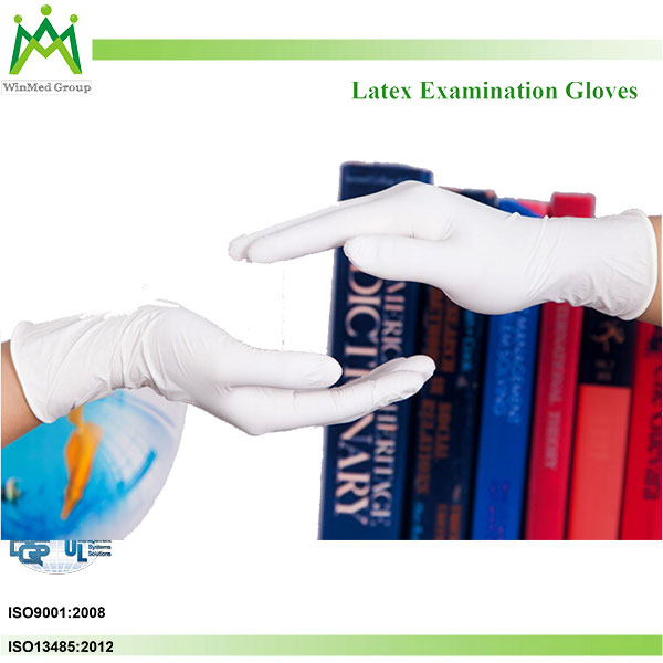 malaysia supplying factory non - sterile latex exam gloves