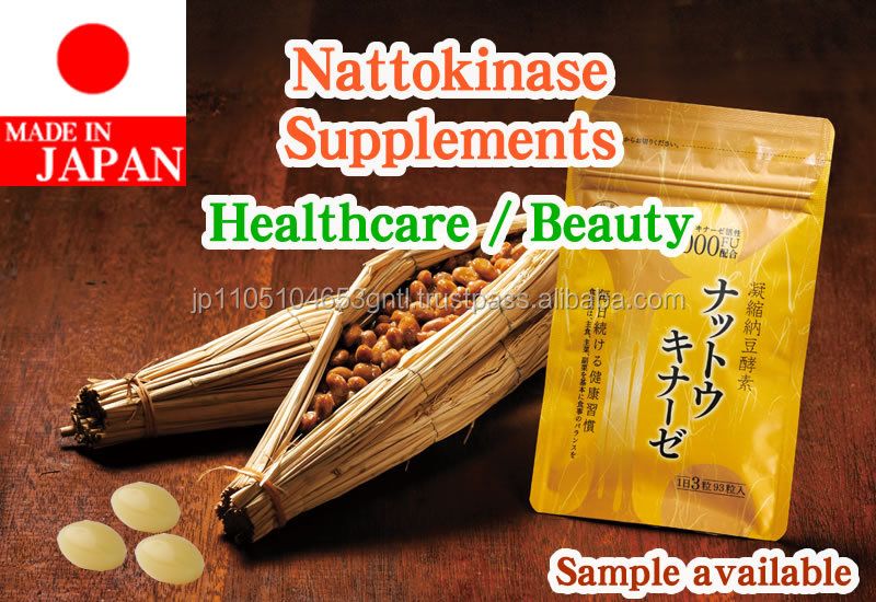 Best-selling nattokinase enzyme supplements for importer of Japanese products