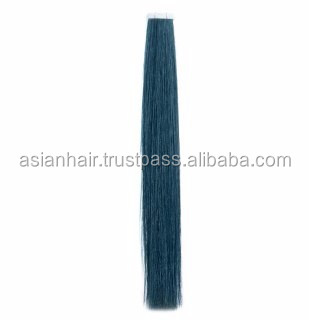 Most Popular Strong Texture Best Selling Virgin Totally Remy Hair Tape in Extension with different 35 colors
