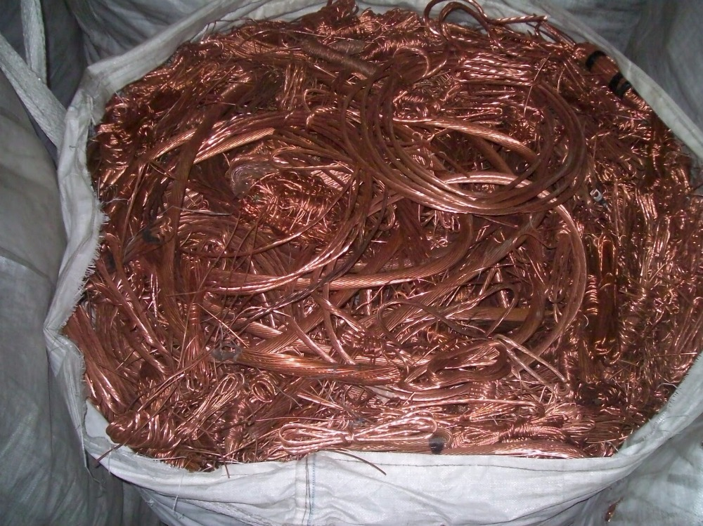 Copper millberry scrap 99.99%