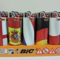 50 Full Size Big BIC LIGHTERS DISPOSABLE BULK WHOLESALE