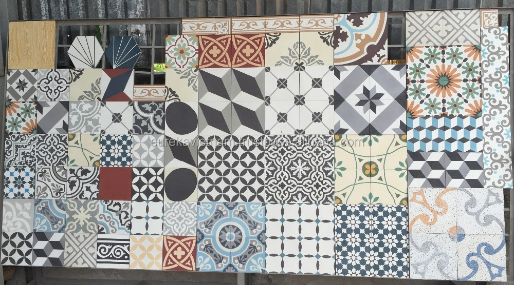 Patchwork floor Tiles