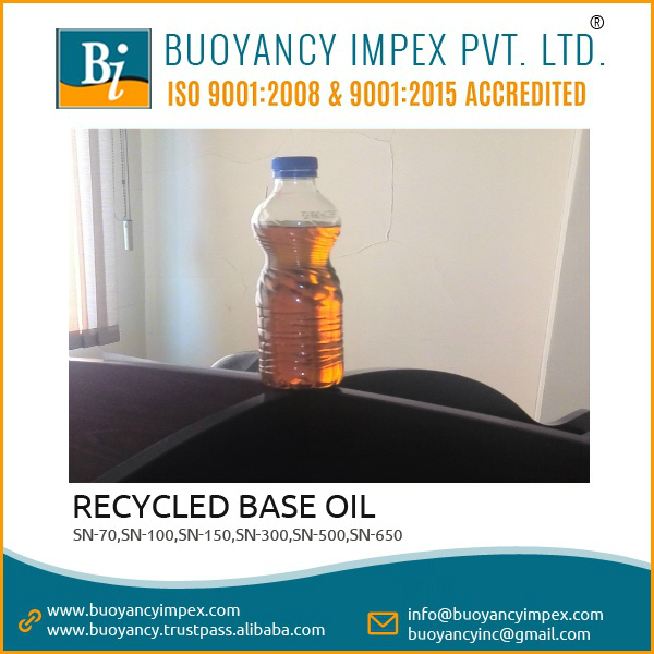 very popular Base Oil SN 300 recycle with excellent quality and no burning smell