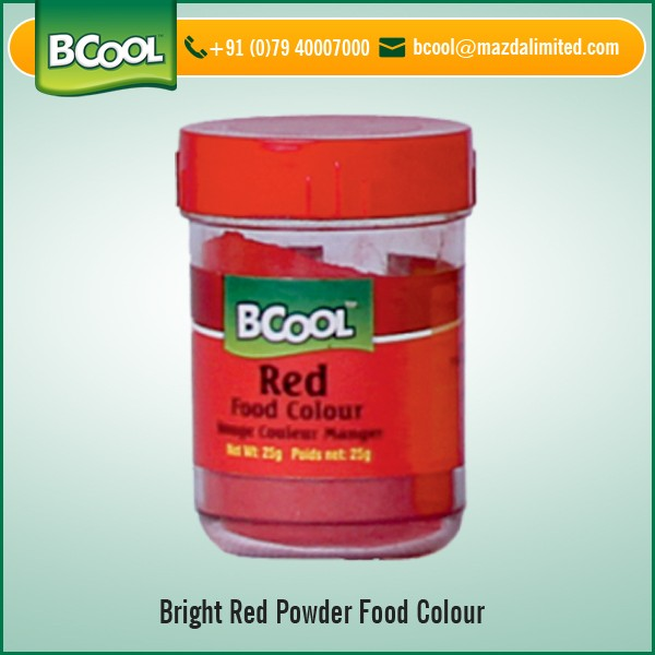 Safe to Consume Bright Red Powder Food Color for Cupcakes and Cakes