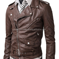 Men S Leather Fashion Jackets Made