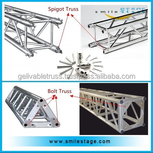 Easy install concert stage roof truss design software for Cost to install trusses