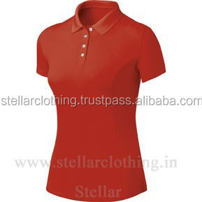 Ladies Pique Polo Shirts