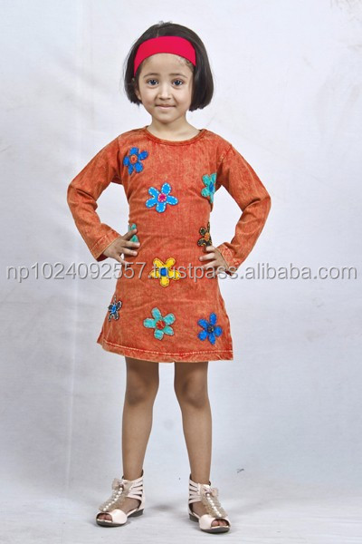 Tunics/Nepal/Skirts/Dresses/Girls/Kurta/Tops / Mixed Color/KIDS