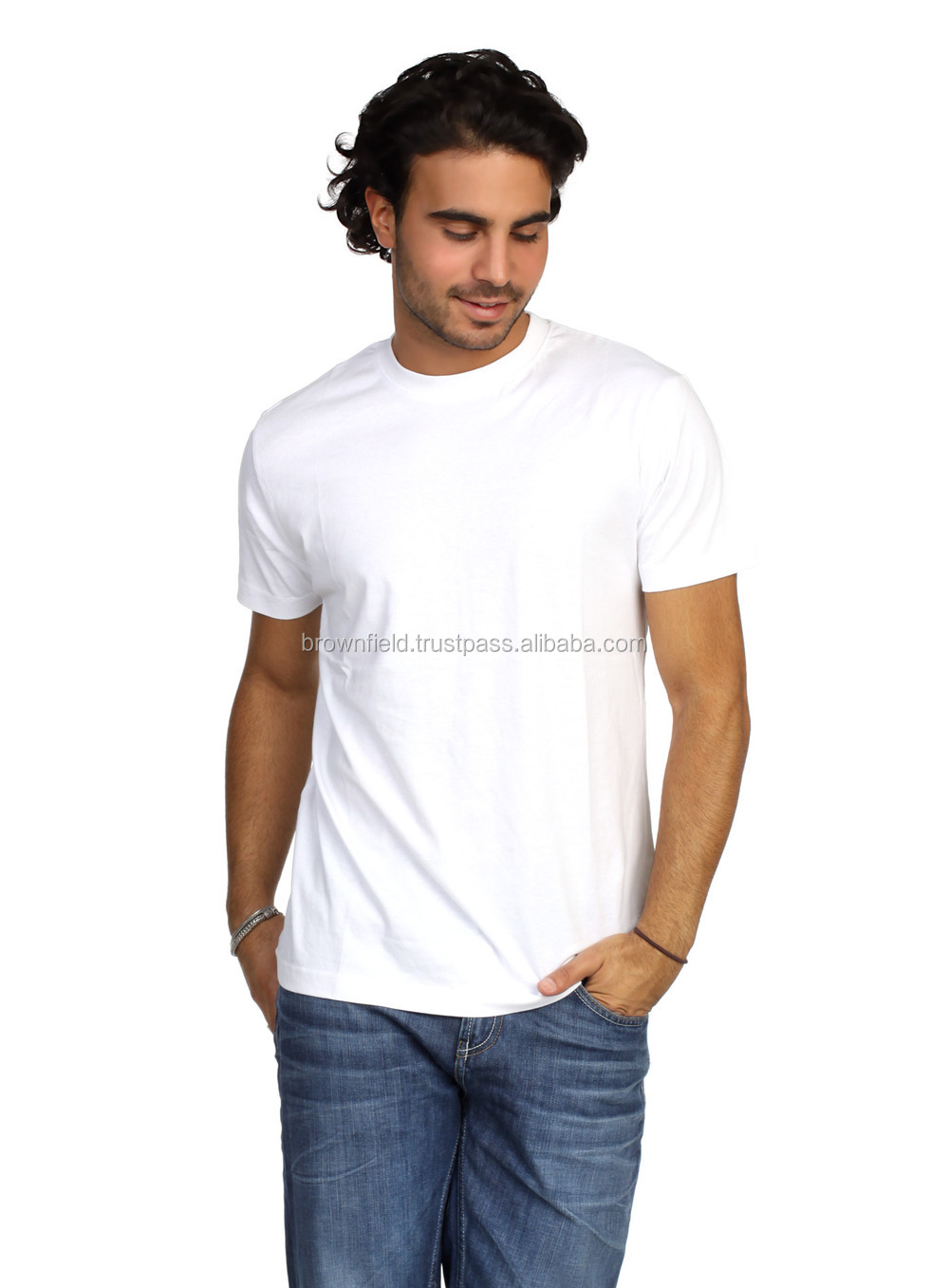 T shirt Factory Bangladesh Custom Print 100% Cotton Plain Blank and Custom Printing T-shirt