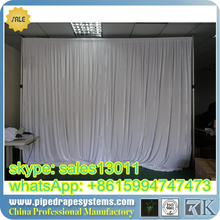 free logo Hottest pipe and drape for weddings/adjustable pipe and drape/wedding backdrop kits