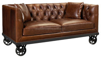 INDUSTRIAL SOFA WITH WHEELS , INDIA INDUSTRIAL ROYAL SOFA , VINTAGE INDUSTRIAL SOFA